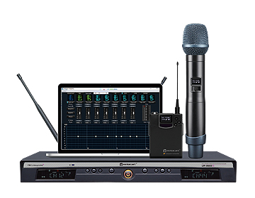 UR-260D UHF Dual-channel Wireless Microphone
