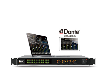 DAM-208D 20 channels Digital Automatic Mixer with Dante interface