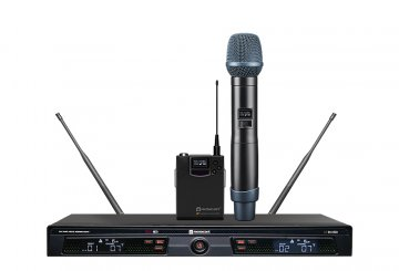 UR-223D Dual Channel True Diversity Wireless Microphone