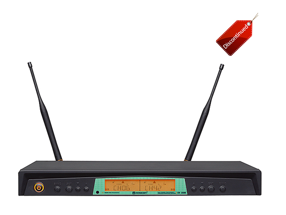 ER-3500 UHF Dual-channel Wireless Microphone