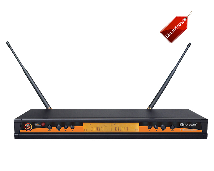 X-10 UHF Dual Channel Wireless Microphone System