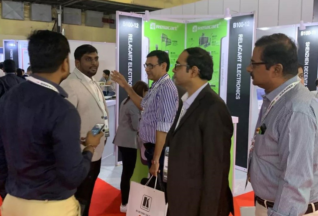InfoComm India 2019 Live Express in Mumbai, India | Relacart brings a variety of wireless a