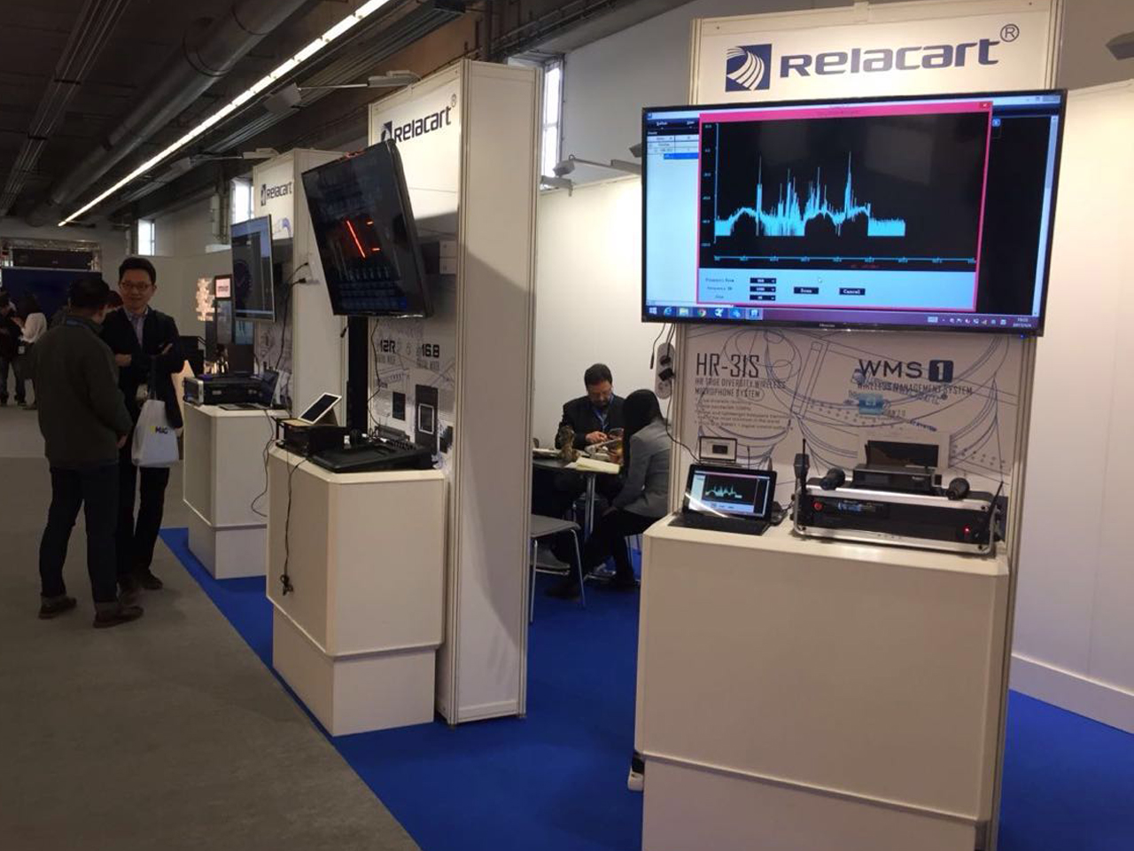 Wireless•Digital Relacart Participating in 2017 Prolight+Sound Frankfurt Lighting and Sou
