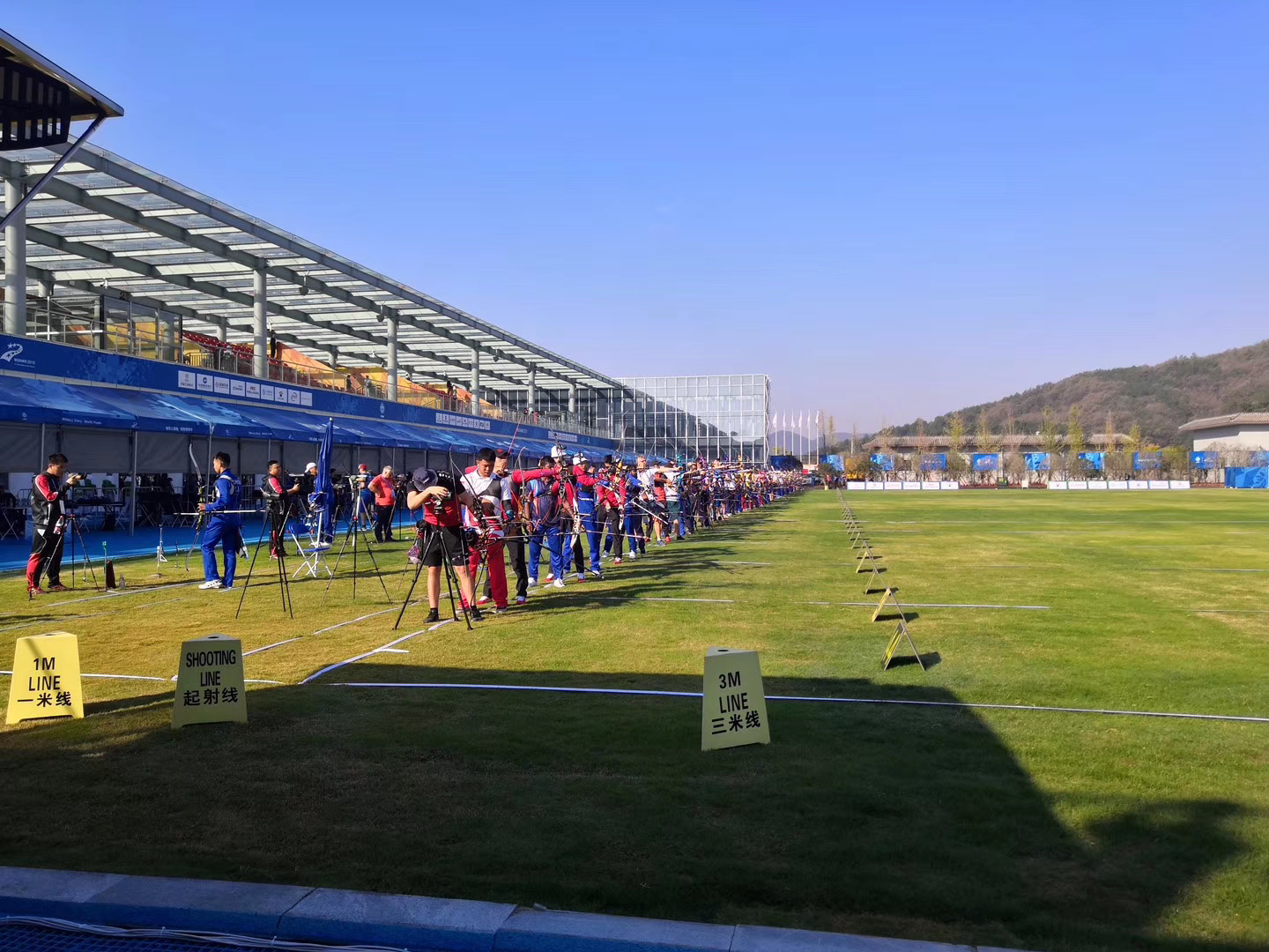【2019 Military World Games】Relacart wireless audio system fully covers multiple competition venues
