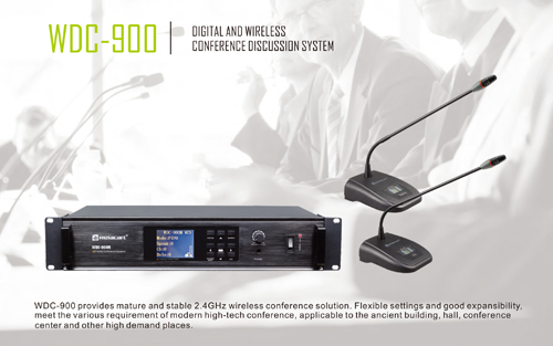 """Wireless--Relacart"" WDC-900 Digital Wireless Conference Discussion System"