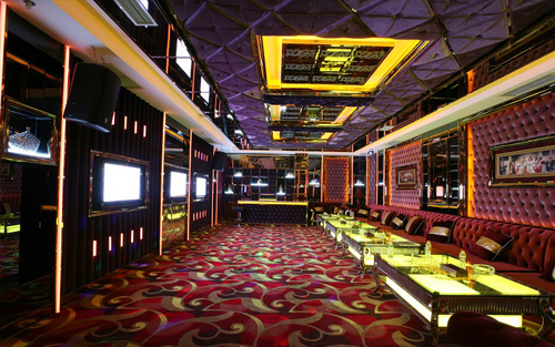 48 units ER-3300 use in KTV rooms in a club