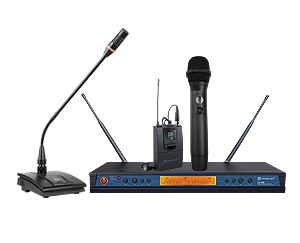 ER-5900 UHF Dual Channel Wireless Microphone System