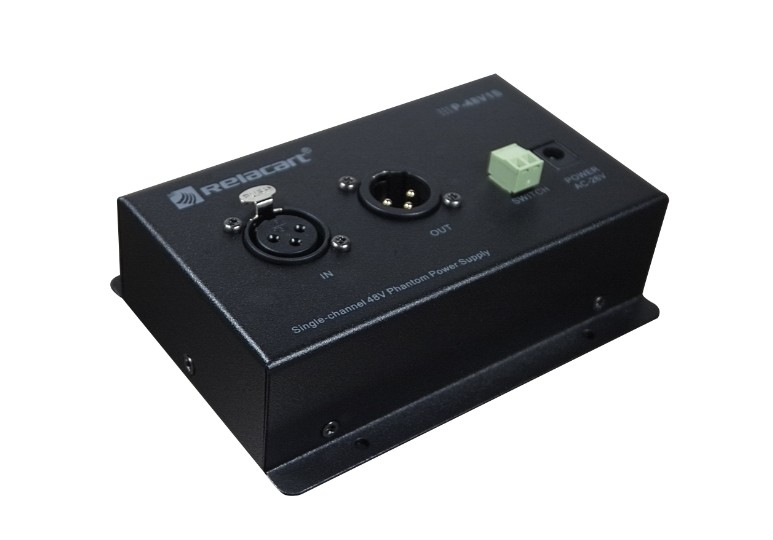 Single-channel 48V Phantom Power Supply